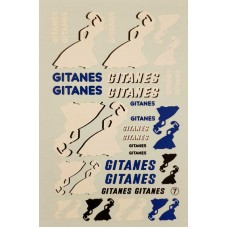 Gitanes Decals