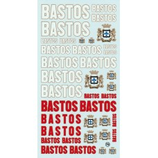 Bastos Sponsor Decal Sheet