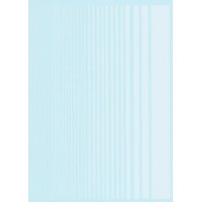 Xtradecal White Stripe decal sheet