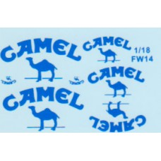 MSM Creation Camel Decal set for the Williams FW14 1:20th